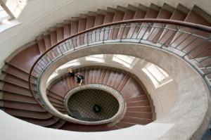 Bauhaus stair